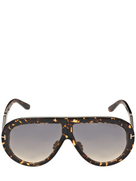 TOM FORD Troy Pilot Acetate Sunglasses in multi