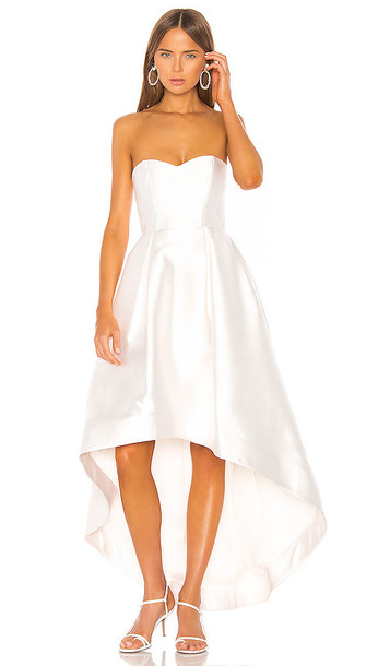 Parker Black Roxanne Gown in White