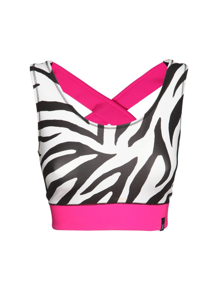 REDEMPTION Zebra Tech Bra Top