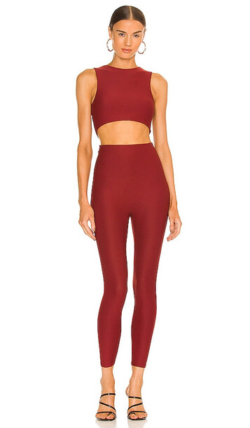 ALIX NYC Jodie Jumpsuit in Red