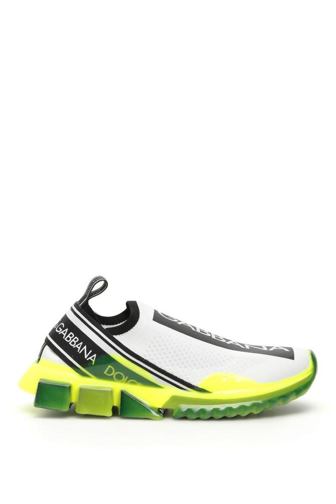 Dolce & Gabbana Sorrento Running Sneakers in bianco