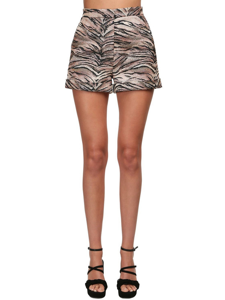 REDEMPTION Tiger Print Shorts