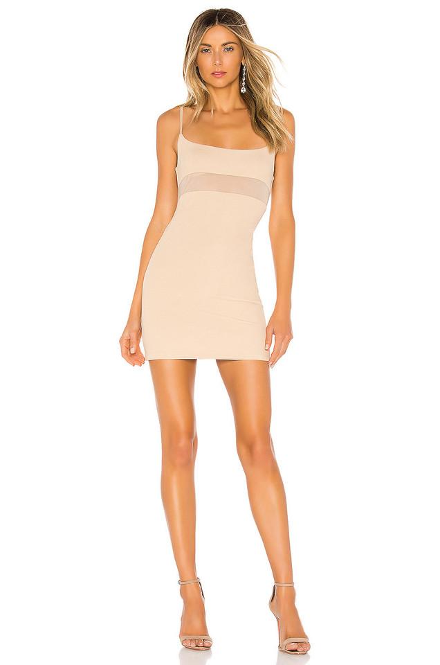 NBD Alex Mini Dress in cream