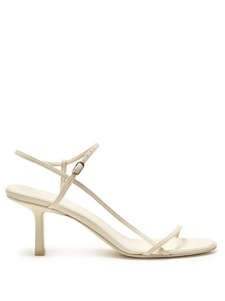 The Row - Mid Heel Slingback Sandals - Womens - White