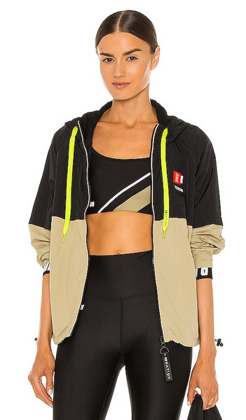 P.E Nation Propel Jacket in Olive in gray