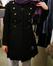 coat,military style