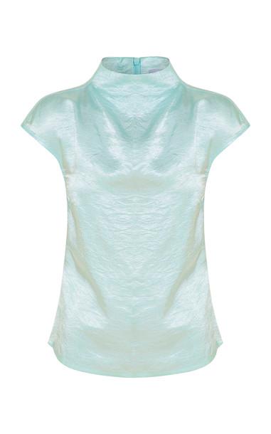 Anna Quan Krista Top Size: 4 in blue
