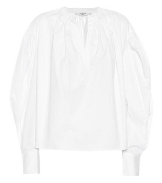 Isabel Marant, Étoile Olto cotton blouse in white