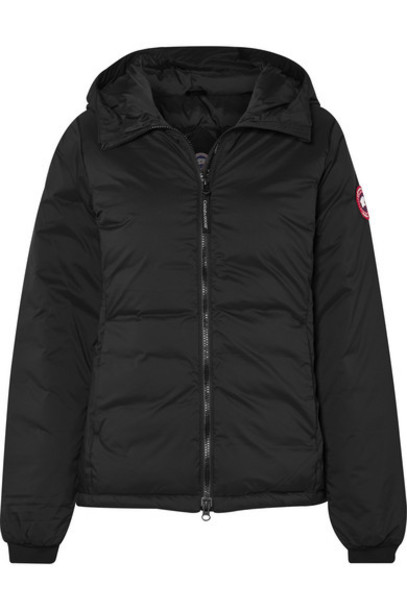 Canada Goose - Camp Hooded Quilted Ripstop Down Jacket - Black