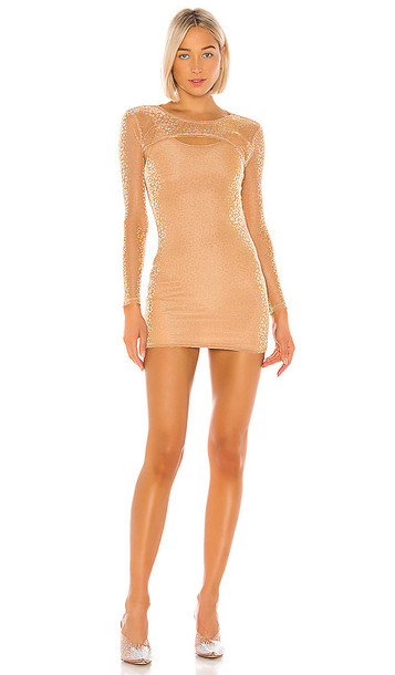 superdown Cleo Two Piece Dress in Beige