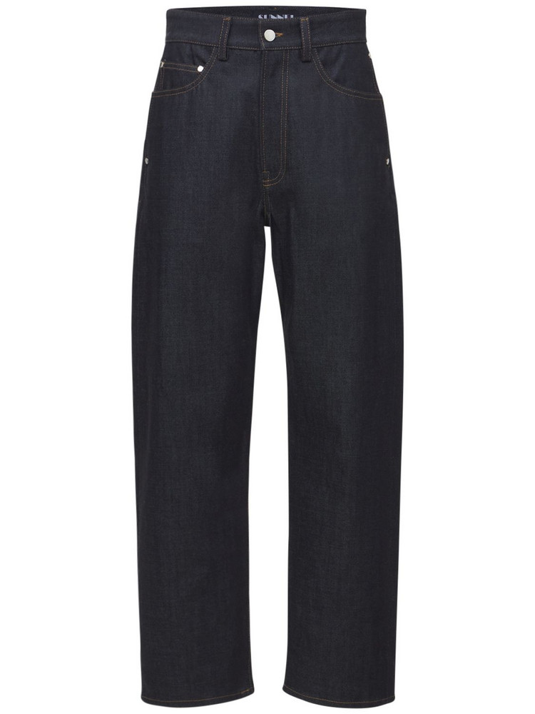 SUNNEI Classic Cotton Denim Jeans