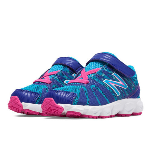 New Balance 890v5 Kids' Infant Running Shoes - Dazzling Blue, Blue Atoll, Exuberant Pink (KV890TBI)