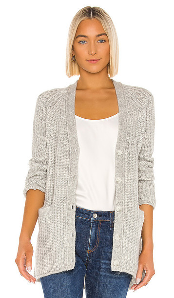 Rag & Bone Joseph Cardigan in Light Gray
