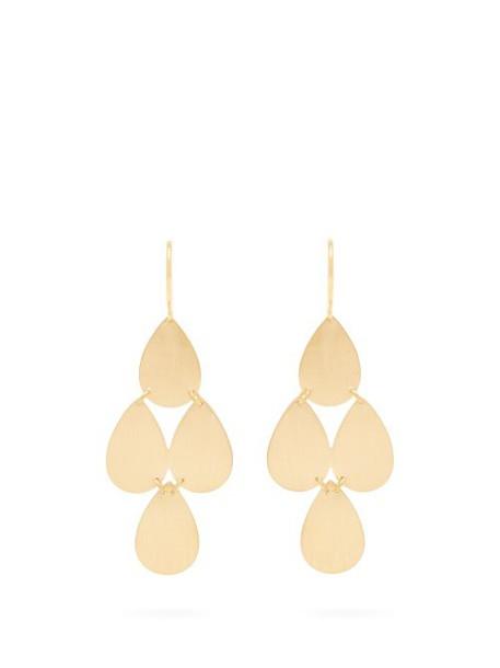 Irene Neuwirth - Yellow Gold Chandelier Earrings - Womens - Gold
