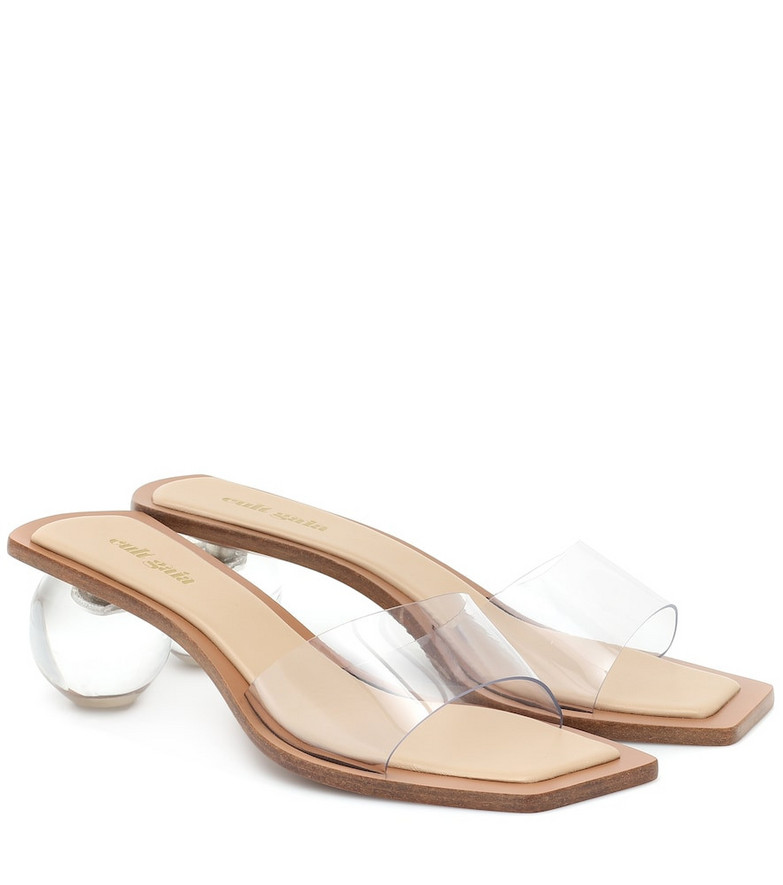 Cult Gaia Exclusive to Mytheresa – Tao PVC sandals in beige