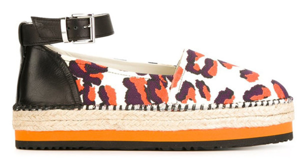 shoes leopard print animal print espadrilles platform shoes spring accessory