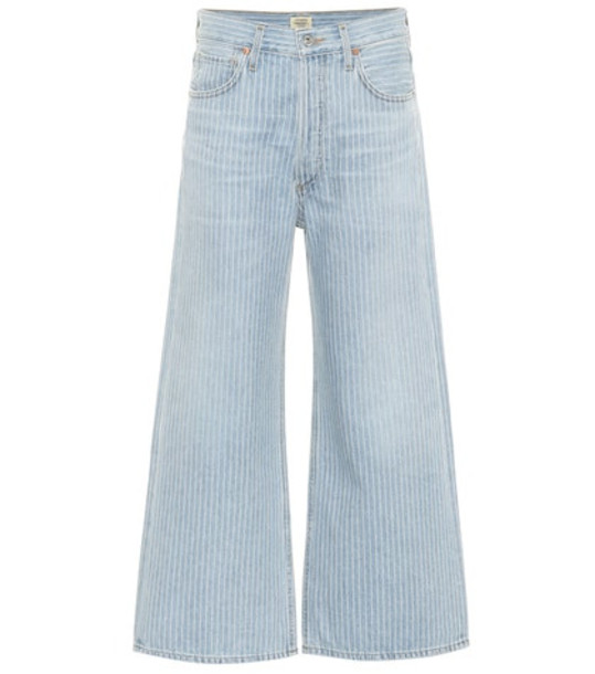 Citizens of Humanity Sacha striped high-rise jeans in blue