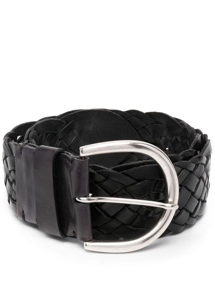P.A.R.O.S.H. P.A.R.O.S.H. braided strap belt - Black