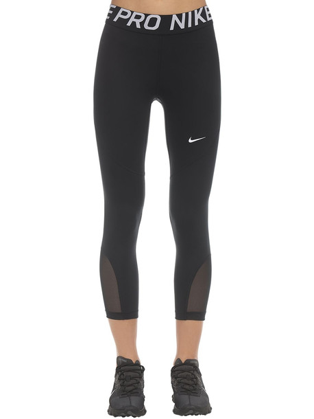 Nike Pro Cropped Leggings in black