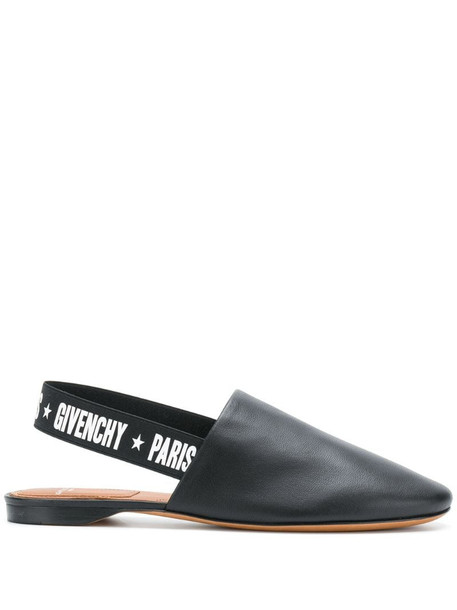Givenchy sling-back mules in black