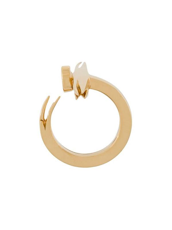 Kasun London nail ring in metallic