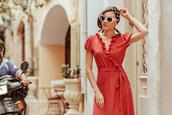 the mysterious girl,blogger,dress,scarf,sunglasses