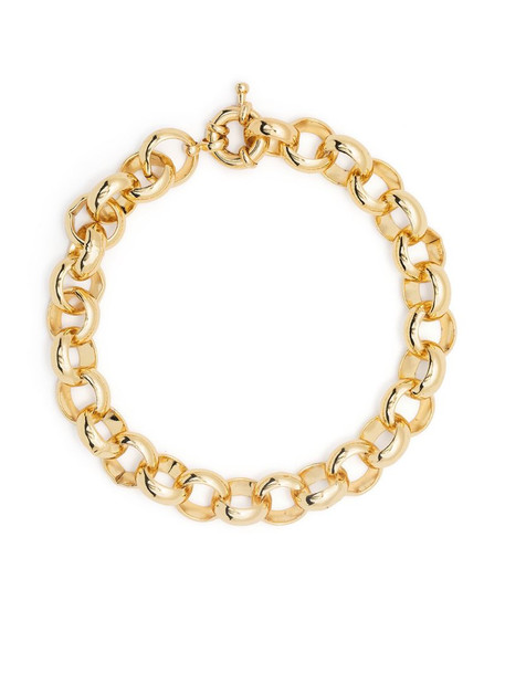 Federica Tosi rolo chain bracelet in gold