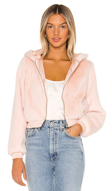 Privacy Please Laney Jacket in Pink
