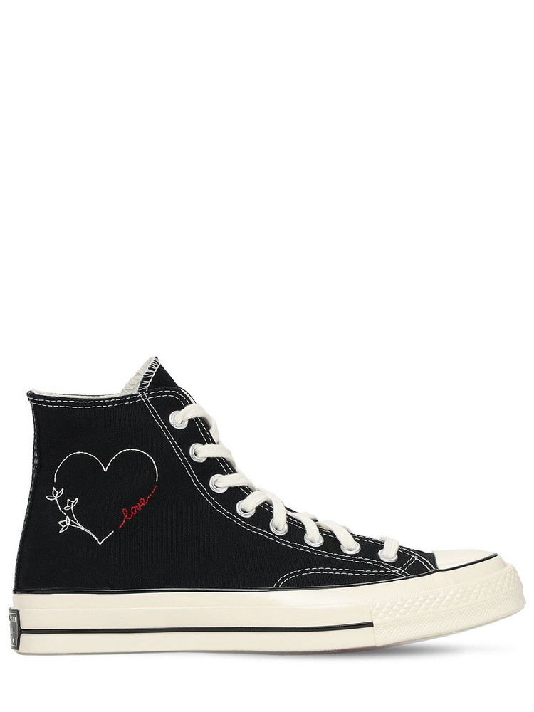 CONVERSE Chuck 70 Hi Sneakers in black