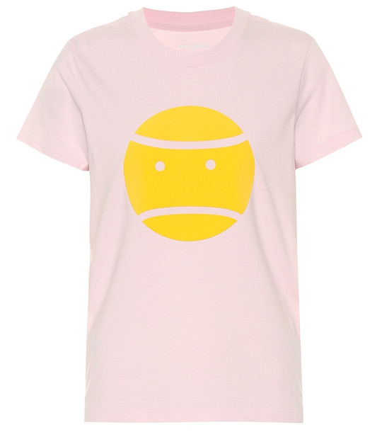 Tory Sport Little Grumps cotton T-shirt in pink