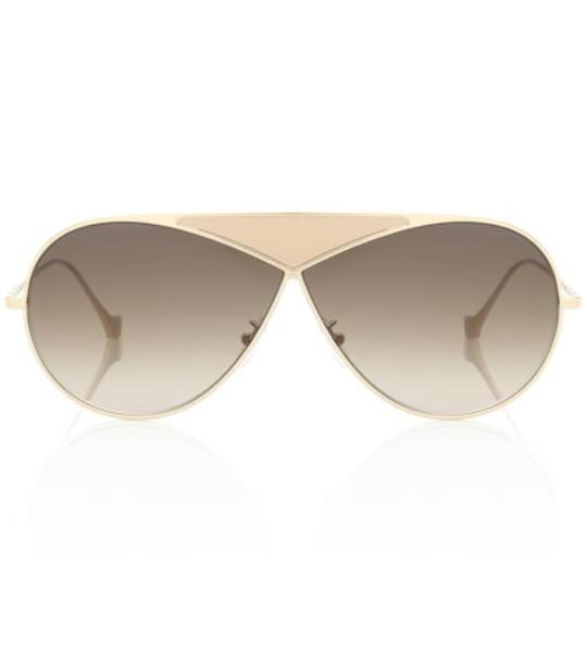 Loewe Pilot Puzzle sunglasses in gold