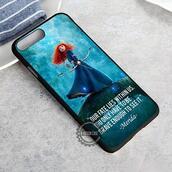 top,cartoon,disney,brave,merida,quote on it,iphone case,iphone 8 case,iphone 8 plus,iphone x case,iphone 7 case,iphone 7 plus,iphone 6 case,iphone 6 plus,iphone 6s,iphone 6s plus,iphone 5 case,iphone se,iphone 5s