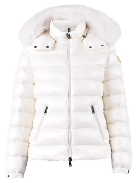 Moncler Badyfur Padded Jacket in white