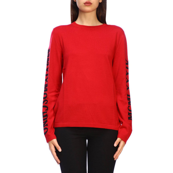 Moschino Couture Sweater Sweater Women Moschino Couture in red