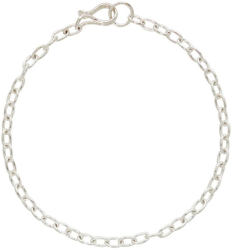 Saskia Diez Girlfriend Necklace in silver