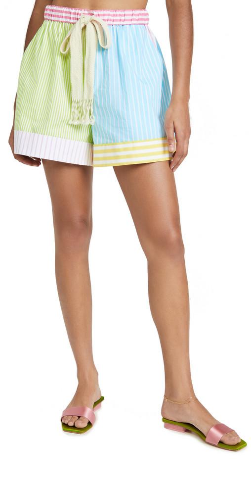 STAUD Aft Shorts in multi