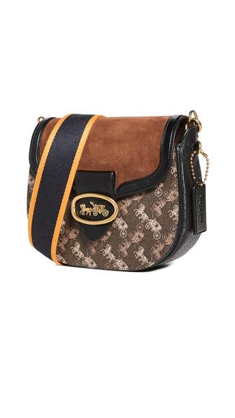 Coach 1941 Kat Saddle Bag 20 in black / brown
