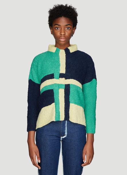 Eckhaus Latta Uni Sweater in Green size M - L