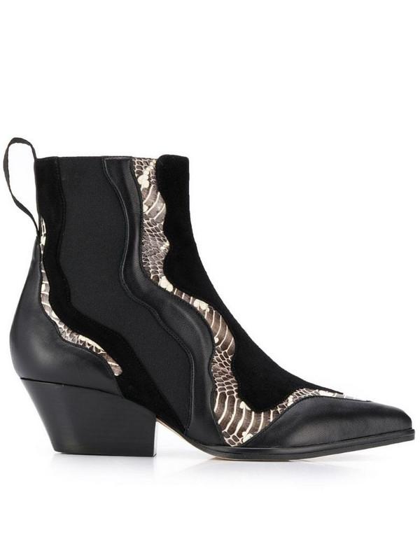 Sergio Rossi Carla ankle boots in black