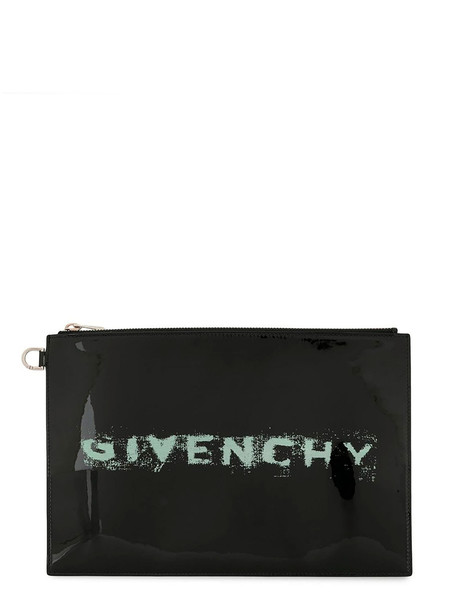 Givenchy Printed Pouch in nero