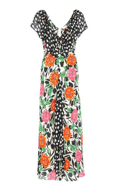 RIXO Antoinette Polka-Dot Dress Size: 6
