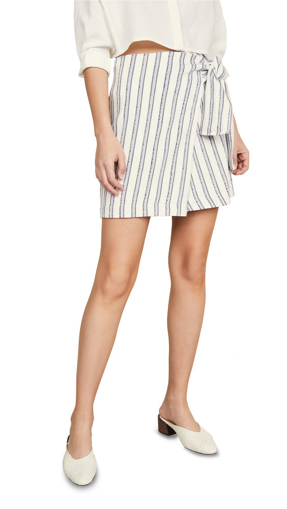 Club Monaco Mairead Skirt in blue / white
