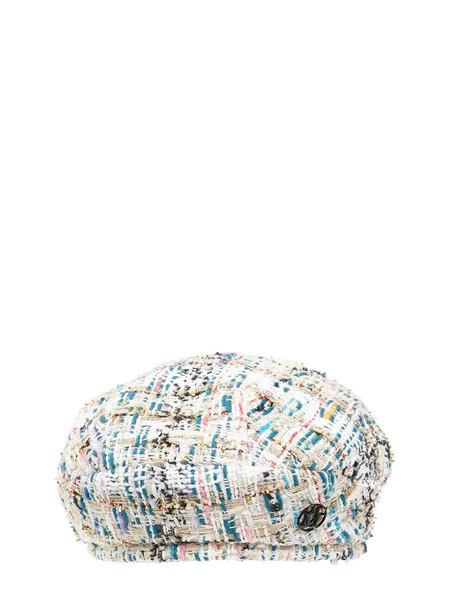 MAISON MICHEL Flore Tweed Hat