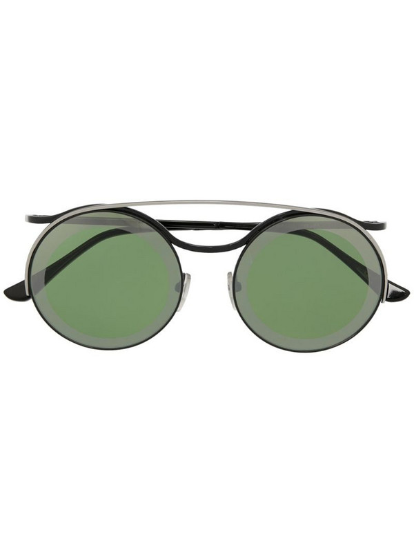 Marni Eyewear round frame sunglasses in black