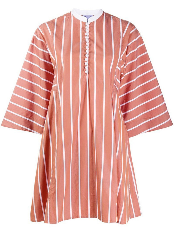 Thierry Colson striped tunic in neutrals