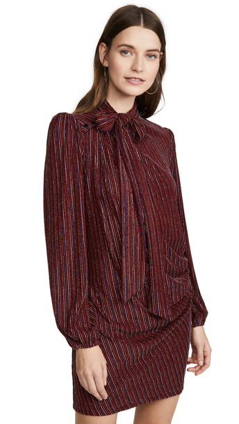 Marc Jacobs The Disco Dress in red / multi