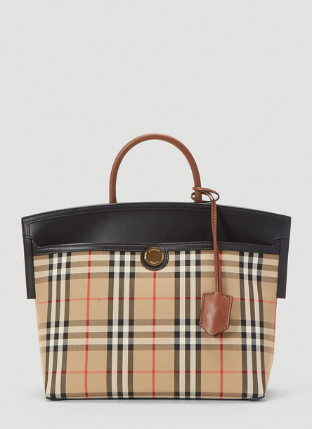 Burberry Society Tote Bag in Beige size One Size