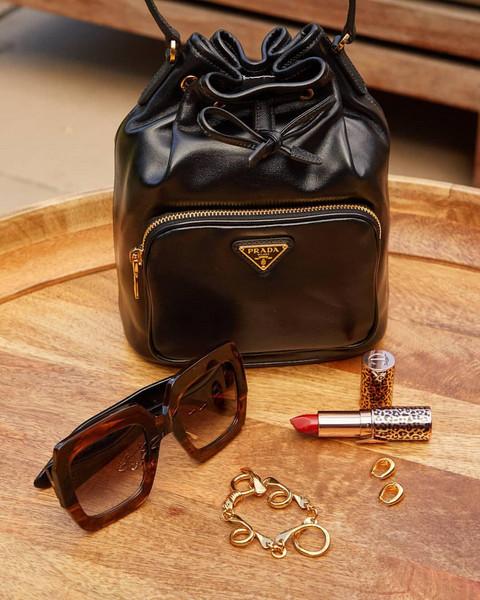 sunglasses jewels bag