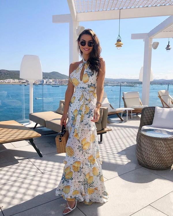 dress maxi dress white dress summer dress