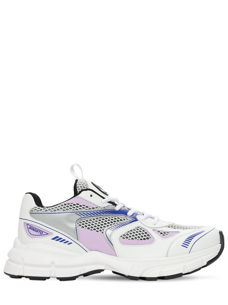 AXEL ARIGATO 30mm Marathon Leather & Mesh Sneakers in blue / pink / white